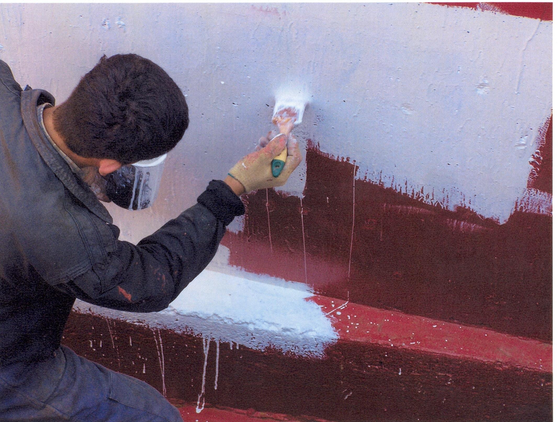 Битумная краска своими руками